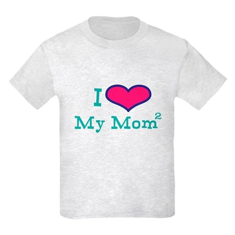 Love your Lesbian Moms Kids Light T-Shirt