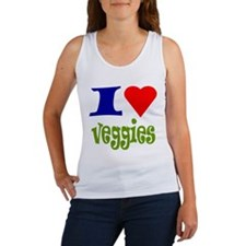 I Love Veggies Women's Tank