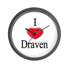 Draven Wall Clock