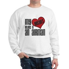 Heart Belongs Airman Sweatshirt
