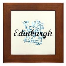 Edinburgh Scotland Framed Tile