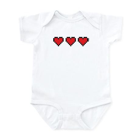 3 Hearts Infant Bodysuit