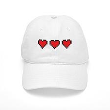 3 Hearts Baseball Cap