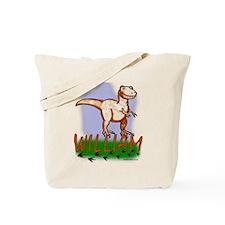 William Dinosaur T-Rex Tote Bag