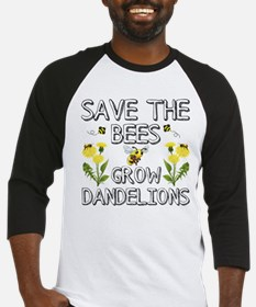 Save The Bees Grow Dandelions Baseball Jersey