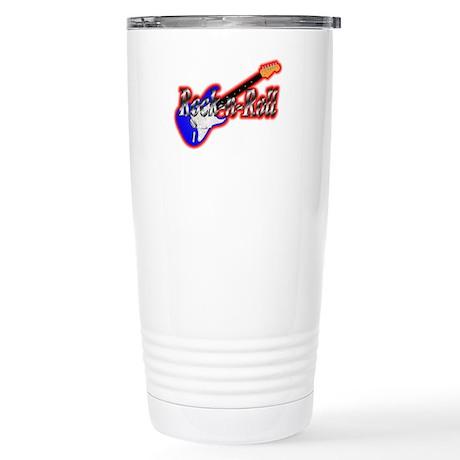 Rock N Roll Stainless Steel Travel Mug