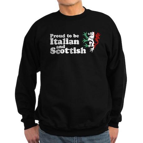 Scottish and Italian Sweatshirt (dark)