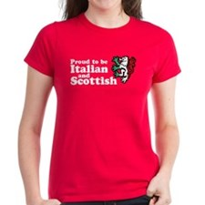 Scottish and Italian Tee