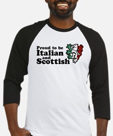 Scottish and Italian Baseball Jersey