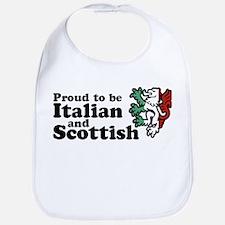 Scottish and Italian Bib