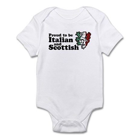Scottish and Italian Infant Bodysuit