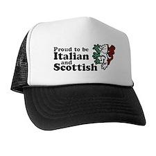 Scottish and Italian Trucker Hat