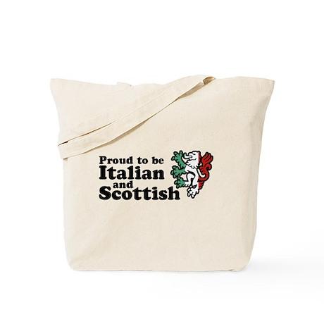 Scottish and Italian Tote Bag