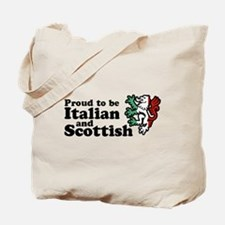 Scottish and Italian Tote Bag
