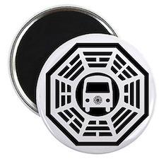 Dharma Van Magnet