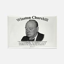 Winston Churchill 01 Rectangle Magnet