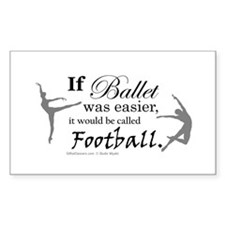 """If Ballet Was"" Decal"