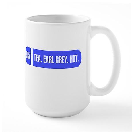 Captain Picard's Tea Large Mug