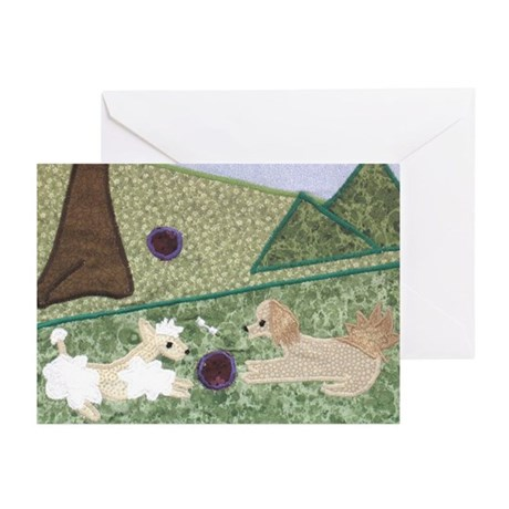 Playing Outdoors Greeting Cards (Pk of 10)