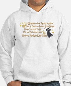 Women Are Like Angels Hoodie