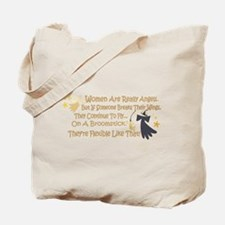 Women Are Like Angels Tote Bag