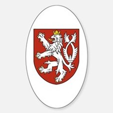 Bohemia Coat of Arms Sticker (Oval)