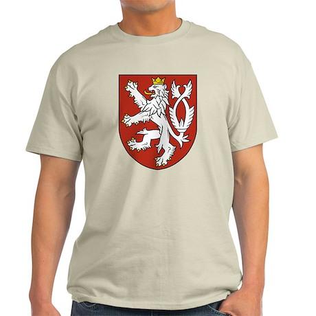 Bohemia Coat of Arms (Front) Light T-Shirt