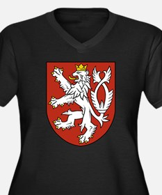 Bohemia Coat of Arms (Front) Women's Plus Size V-N