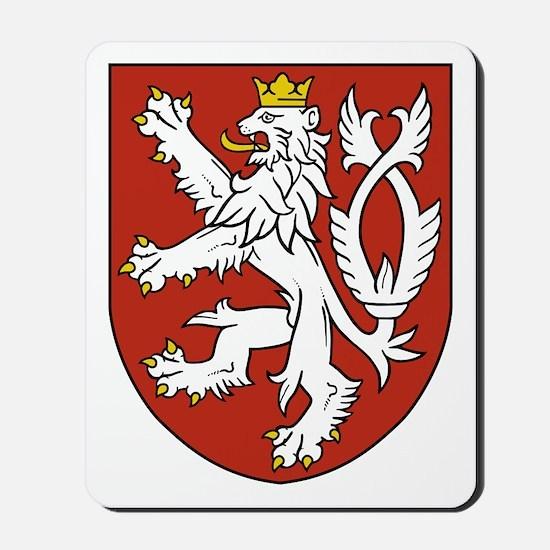 Bohemia Coat of Arms Mousepad