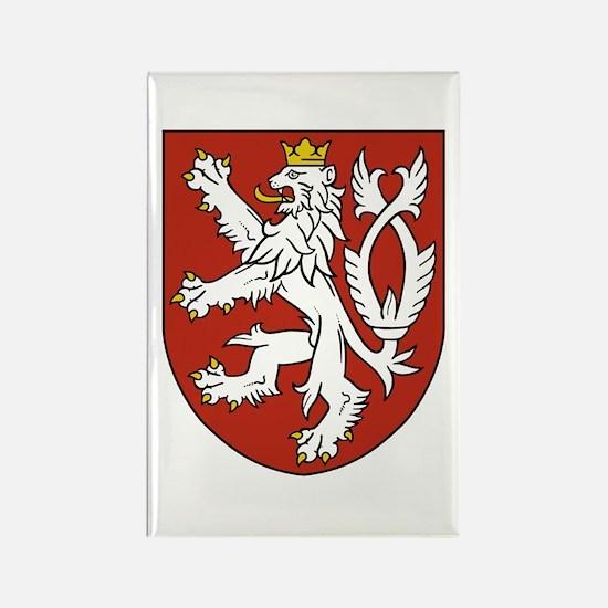 Bohemia Coat of Arms Rectangle Magnet