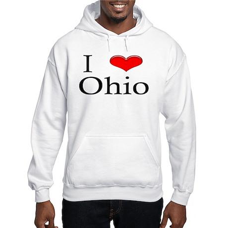 I Heart Ohio Hooded Sweatshirt