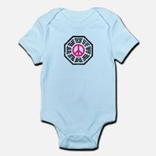 Dharma Pink Peace Infant Bodysuit