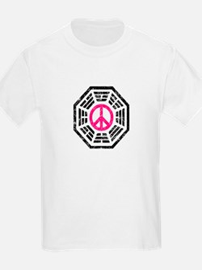 Dharma Pink Peace T-Shirt