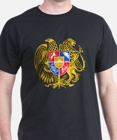 Armenia Coat of Arms (Front) T-Shirt