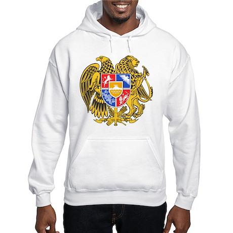 Armenia Coat of Arms Hooded Sweatshirt