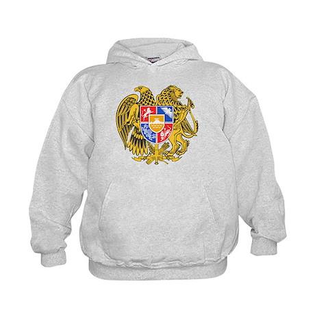 Armenia Coat of Arms Kids Hoodie