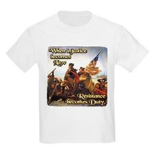 When Injustice Becomes Law T-Shirt