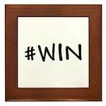 #WIN Framed Tile