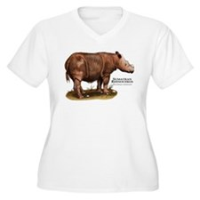 Sumatran Rhinoceros T-Shirt