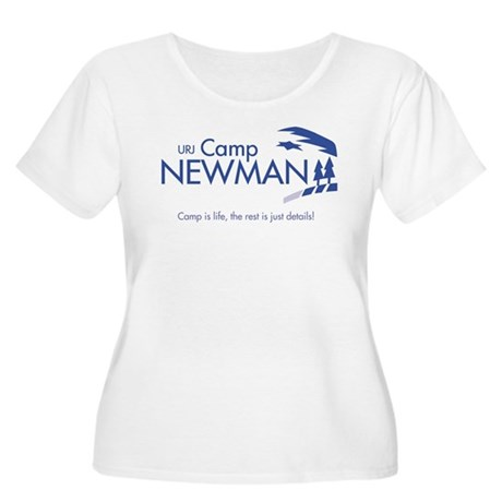"""Camp Newman / Camp is Life"" Women's Plus Size Sco"
