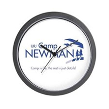 """Camp Newman / Camp is Life"" Wall Clock"