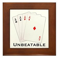 Unbeatable -  Framed Tile