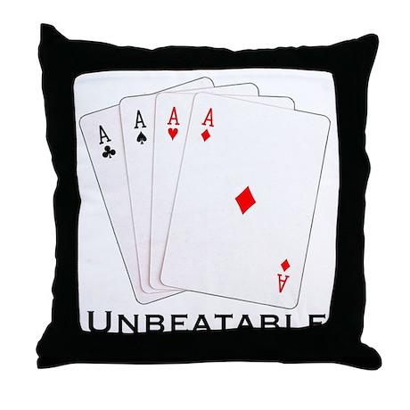 Unbeatable - Throw Pillow