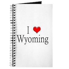 I Heart Wyoming Journal