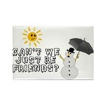 Just Be Friends Rectangle Magnet (10 pack)