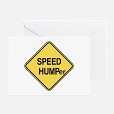 Speed Humper Greeting Card