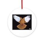 Domestic Flight Pigeon Ornament (Round)