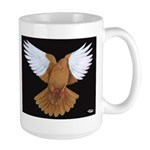 Domestic Flight Pigeon Large Mug