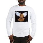 Domestic Flight Pigeon Long Sleeve T-Shirt