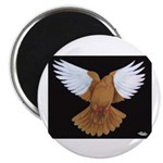 Domestic Flight Pigeon Magnet